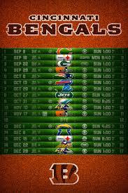 cincinnati bengals 2016 football schedule wallpaper