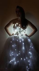 Dresses With Lights My Latest Creation Is A Dress Made From Tulle And Christmas