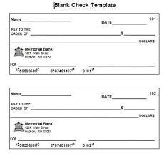Check Writing Templates Blank Check Template In 2019 Blank Check Printable Checks