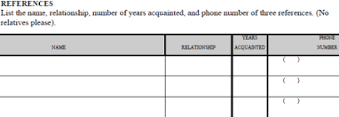 The Stupidity Of Personal References On A Job Application The