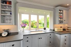 Kitchen Design With Bay Window