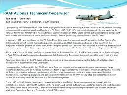 avionics technician resume sample avionics maintenance manager avionics  electrical technician sample resume