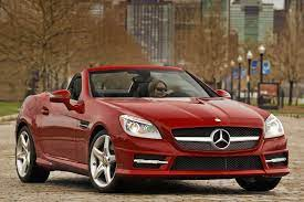 The instrument cluster was inspired by the watch design, with a. 2012 Mercedes Benz Slk Class Review Ratings Edmunds