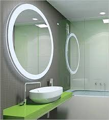 bathroom mirror with lights built in. bathroom decoration using large round led mirror built in light including mount wall with lights