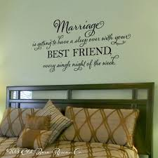sun wall decal trendy designs: marriage is getting to have a sleep over vinyl wall decal master bedroom