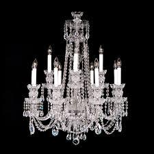 crystals for chandelier stylish 8 4 medium 12 light crystal with swarovski 26 x 34 14