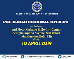 Iloilo Mission Hospital Organizational Chart Prc Iloilo Regional Offices New Location Professional