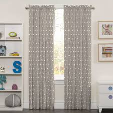 blackout shades baby room. Blackout Curtain Deconovo Sliver Star Print Solid Thermal - Shades Baby Room O