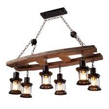 Kronleuchter Einfach Retro Wohnzimmer Esszimmer Dekorative Lampen