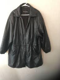 wilson leather women biker jacket size large rn69426