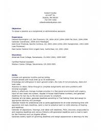 Resume Template Great Sample Resumes Hotel Hospitality Examples