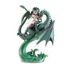 jasmine becket griffith amethyst dragon figurine