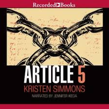 article 5 audio book by kristen simmons
