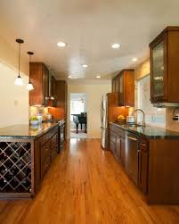 lighting for galley kitchen. Galley Kitchen Recessed Lighting Placement For