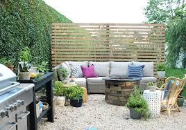 patio privacy screen outdoor privacy screen with sherwin williams diy pea gravel patio