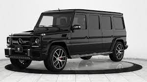 This car is fitted with 22 inch matt black amg styling rims. 1 2 Million Bulletproof Mercedes G63 Limo Could Save Your Life