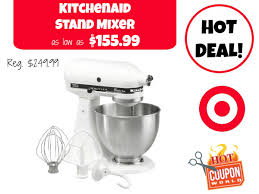Target Small Kitchen Appliances Kitchenaid Stand Mixer 15599 Or Less At Target