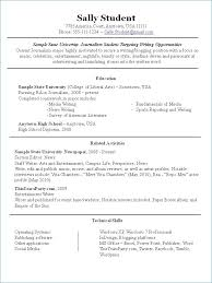 Extra Curricular Activities Examples For Resume From Extracurricular