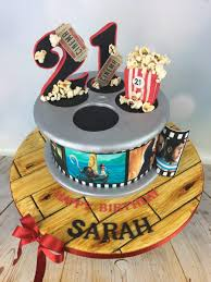 Film Reel 21st Birthday Cake - Mel's Amazing Cakes