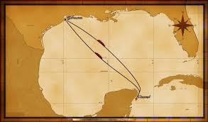 map wonder 4 night western caribbean a