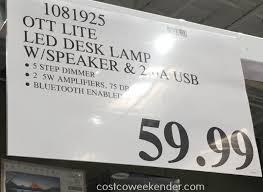 deal for the ottlite led desk lamp at costco