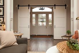 the 3 panel barn door is a contemporary look on the clic 6 panel barn door perfect for any home decor