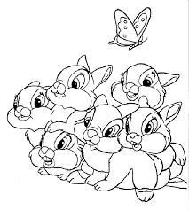 Disegni Da Colorare Coniglietti Fredrotgans