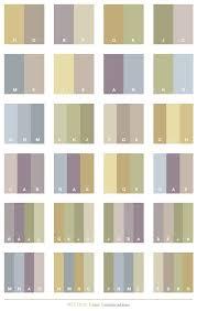 Neutral color schemes, color combinations, color palettes for print (CMYK)  and Web