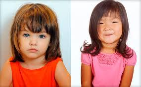 účes Pro Fotografování Pro Dívku Sedmi Let Módní Dětské účesy
