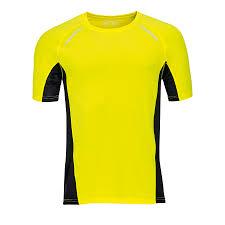 """<b>Футболка</b> для бега """"<b>Sydney men</b>"""", <b>желтый</b>, 92% полиэстер, 8 ..."""