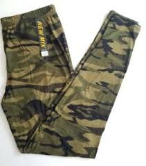 Viv Collection Size Chart Details About Nwt Os One Size Viv Collection Army Green Black Camo Leggings