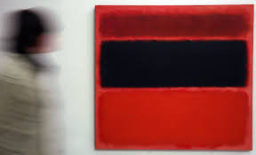 a mark rothko painting was defaced with black marker at london s tate modern gallery sunday