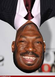 Upside Down Eddie Murphy. Is this Eddie Murphy the Actor? Share your thoughts on this image? - upside-down-eddie-murphy-2028160245