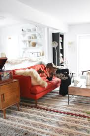 An Eclectic Vintage Mid Century Living Room With Steffy Kuncman | West Elm
