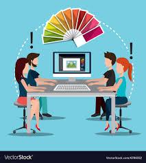 Vector Image Designer Creative Ideas Graphic Designer