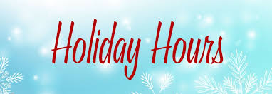 Image result for holiday hours