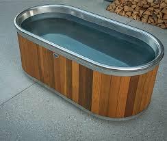 outdoor wood bathtub handmade new zealand bathtub stoked