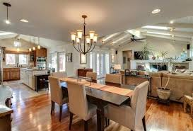 kitchen dining room hearth room combo | pretty much my dream kitchen/dining /living