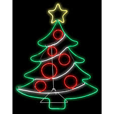 outdoor christmas lighting. H Light Glo Christmas Tree W/Star Outdoor Lighting