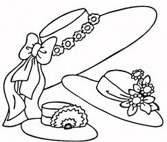 Ladies Hats Coloring Pages Get Coloring Pages