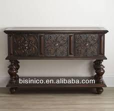 Classic luxury Spanish wooden antique finishing dining
