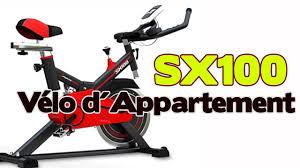 SPORTSTECH F Bike SX100 | Vélo d'appartement jusqu'à 120 kg | Vélo  d'appartement pour la maison - YouTube