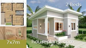 House Design Small House Design Plans 7x7 With 2 Bedrooms