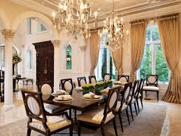 traditional dining room chandeliers. Opulent Dining Room Double Chandeliers Hgtv Traditional R