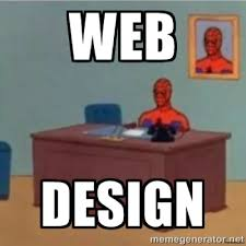spiderman sitting at desk meme generator design ideas