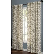 Hidden Tab Curtains Shop Allen Roth Oberlin 95 In Straw Cotton Back Tab Light