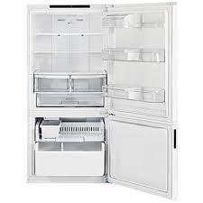 lg refrigerator 24. lg lbc24360sw 24 cu.ft. bottom-freezer refrigerator w/ swing door \u2013 white lg d
