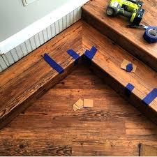 coretec installation plus installation engineered luxury vinyl plank flooring great installation of on stairs