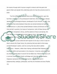 homer s odysseus and virgil s aeneas essay example topics and  homers odysseus and virgils aeneas essay example