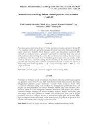 Rpp ini di buat untuk proses pembelajaran secara langsung. Https Journal Uwks Ac Id Index Php Trapsila Article Download 1070 Pdf